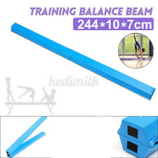 8ft Sectional Gymnastics Floor Balance Beam Skill Performance Training Folding