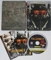 KILLZONE 2 PS3 PlayStation 3 Limited Edition Steelbook PLATINUM DISC