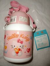NEW SANRIO HELLO KITTY Japan 20 oz Carry Straps WATER BOTTLE DRINK CONTAINER CUP
