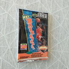 vintage basketball cards UPPER DECK nba 96 97 - MICKAEL JORDAN - booster sealed