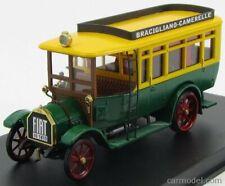 Rio-models 4433 scala 1/43 fiat 18bl autobus bracigiano - camarelle 1916 green