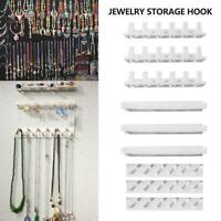 9Pcs Jewelry Wall Hanger Holder Stand Organizer Necklace Rack Earring Brace I0A0