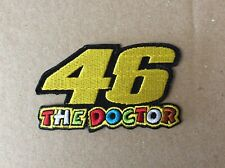 A606 PATCH ECUSSON VALENTINO ROSSI - 46 THE DOCTOR - 8,5*5 CM