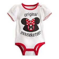 Minnie Mouse Mouseketeer Disney Cuddly Bodysuit for Baby (Brand New)