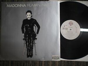"MADONNA - HUMAN NATURE - UK PRESSING 12"" VINYL SINGLE 1995 MAVERICK WO300T EX"