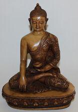 Large Resin Shakyamuni Buddha Statue, Home Decor, Hand Craved Nepal, New, CL-219