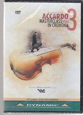 Salvatore Accardo: Masterclass in Cremona, Vol. 3 (DVD, 2014) - SEALED