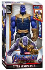Talking Thanos Marvel Avengers Titan Hero Series Power FX Action Figure Toy Gift