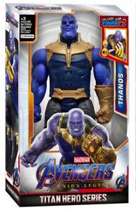 Talking Thanos Marvel Avengers Infinity War Endgame Power FX Action Figures Toy