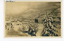 Adelboden RPPC Antique Switzerland Photo Fotokarte AK Alps Swiss Schweiz 1926