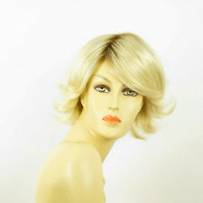 short wig for women very clear golden blond ref: edwige ys PERUK