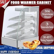Commercial Pie Egg Tart Food Warmer Hamburger Pizza Hot Display Showcase Cabinet