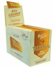 Rizla E0366 Liquorice Cigarette Smoking Rolling Papers - 100  Pieces