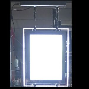New Magnetic A1 LED Double Side Window Light Pocket Panel Estate Agent Display
