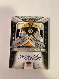 MICHAEL HUTCHINSON 12-13 Panini Rookie Anthology Silhouette #71 #73/99 Bruins