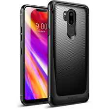 Poetic Karbon Shield [Shock Absorbing] Slim Fit TPU Case for LG G7 ThinQ Black