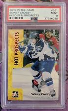 2005 In The Game ITG Sidney Crosby Hot Prospects #361 PSA 9 MINT