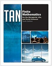 Finite Mathematics for the Managerial, Life, and Social Sciences by Soo Tan 10th