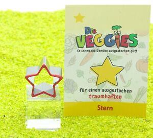 Hergo Die Veggies Obst Gemüse Brot Ausstecher Stern  - Edelstahl