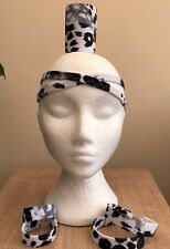 freestyle dance costumes - SALE Snow Leopard Headpiece, Cone And Bands