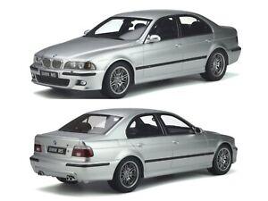 1/18 Ottomobile BMW E39 M5 Titanium Silver 2002 neuf boite livraison domicile