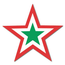 2 X Mod Star, Coche, Furgoneta Etiqueta Engomada