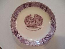 England Staffordshire Adams Potteries Plate Washington Headquarters Valley Forge