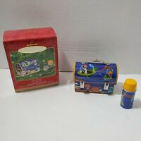 Hallmark Keepsake Ornament Jetsons Lunch Box And Thermos '01 Excellent Condition