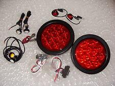 JEEP TJ YJ CJ LED Lighting Kit Tail Lights Marker Lights Turn Lights Backups