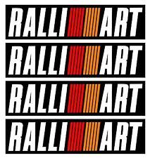 Mitisubishi Evo Ralliart Bumper Decals Stickers