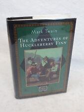 Mark Twain  THE ADVENTURE OF HUCKLEBERRY FINN  Barnes & Noble  c.1996 HC/DJ