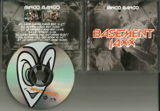 BASEMENT JAXX Bingo Bango w/ 3 RARE EDITS PROMO Radio DJ CD single USA