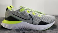 New! Nike Men's Renew Run Wide(4E) Shoes Size 12, 10.5,10 Grey Fog Black/White