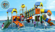 32x31x20 Commercial Splash Pad Water Park Slide Pool Inflatable Game Playground