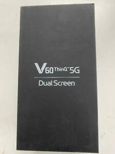 LG V60 ThinQ 5G LMV600TM 128GB Blue T-Mobile Sprint Unlocked LG Dual Screen NEW