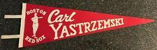 Carl Yastrzemski Boston Red Sox Felt Pennant Replica