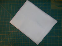 "3 Yards White Blouse Fabric 45"" wide Synthetic"