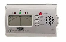 Korg GA-30 GA30 Guitar and Bass Tuner (NEW)
