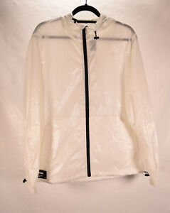 Zara Mens Jacket DNWR Glow in the Dark Off-White M NWT