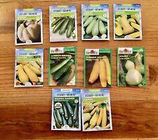 Squash Seeds / 10 Pack Variety
