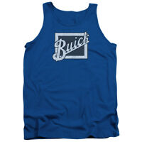 Buick DISTRESSED EMBLEM Licensed Adult Tank Top All Sizes