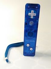 Rock Candy Wiimote Nintendo Wii Blue Remote Tested Controller Cover Wrist Strap