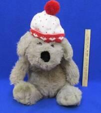 Puppy Dog Plush Stuffed Toy Dayton Target Red & White Stocking Hat Hearts Love
