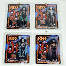 "KISS Band SONIC BOOM 8"" Figure Set SEALED Gene Simmons Paul Eric + Tommy SIGNED"