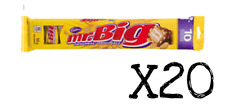 Mr. Big Chocolate Bar Canadian Candy Snack Size 110g x 20 packs