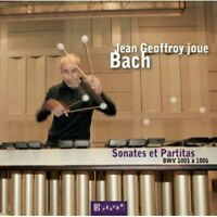 Jean Geoffroy, J.S. Bach - Sonatas & Partitas [New CD]