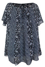 Evans Scoop Neck Short Sleeve Tops & Shirts for Women