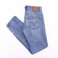 Vintage LEVI'S 511 Slim Straight Fit Men's Blue Jeans W32 L32
