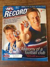 Vintage Collectable AFL Footy Record Collingwood v Fremantle  2001