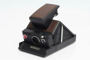 Polaroid SX-70 Land Camera Model 2 Black/Brown